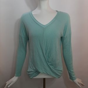 3/$18 Fashion Nova Top Mint Green Stretch